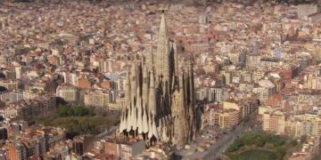 This is the finished Sagrada Familia in 2026
