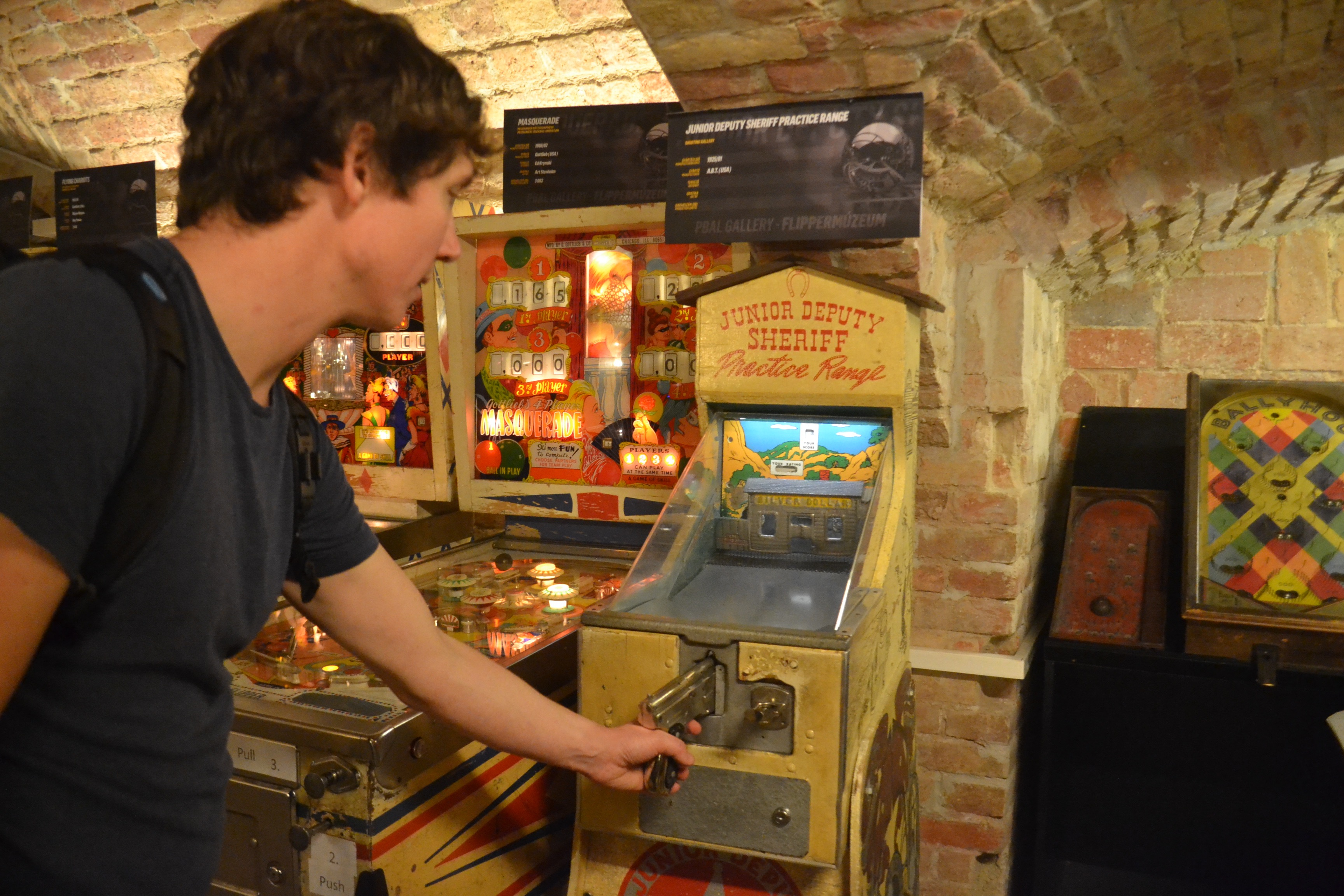 Going old-school at the Budapest Pinball Museum