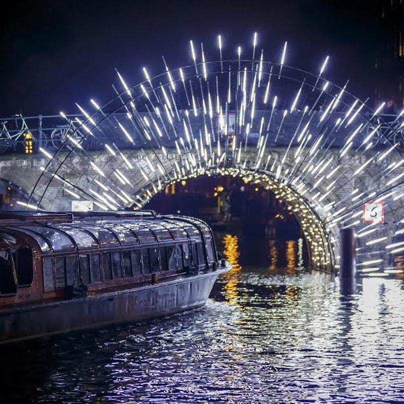 amsterdam light festival whole hole boat cruise