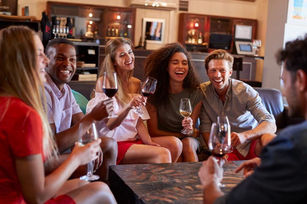 Amsterdam Wine Festival on St Patricks' Day