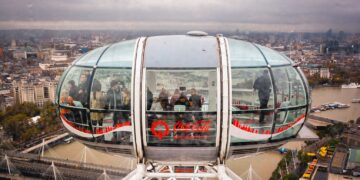 Five fun facts about the London Eye