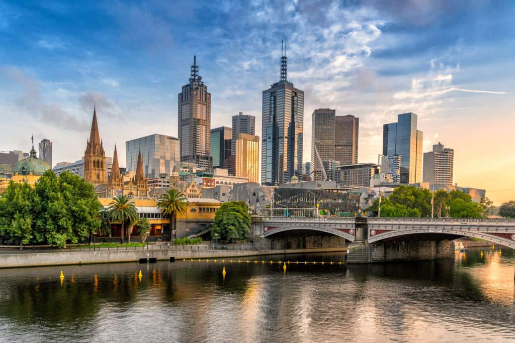 Melbourne Central Business District