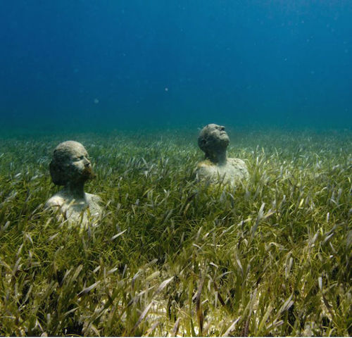 Mexico's underwater museum
