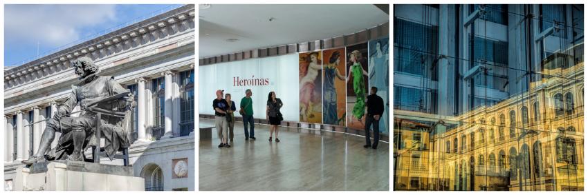 Museo del Prado, Museo Thyssen-Bornemisza, and Museo Reina Sofía