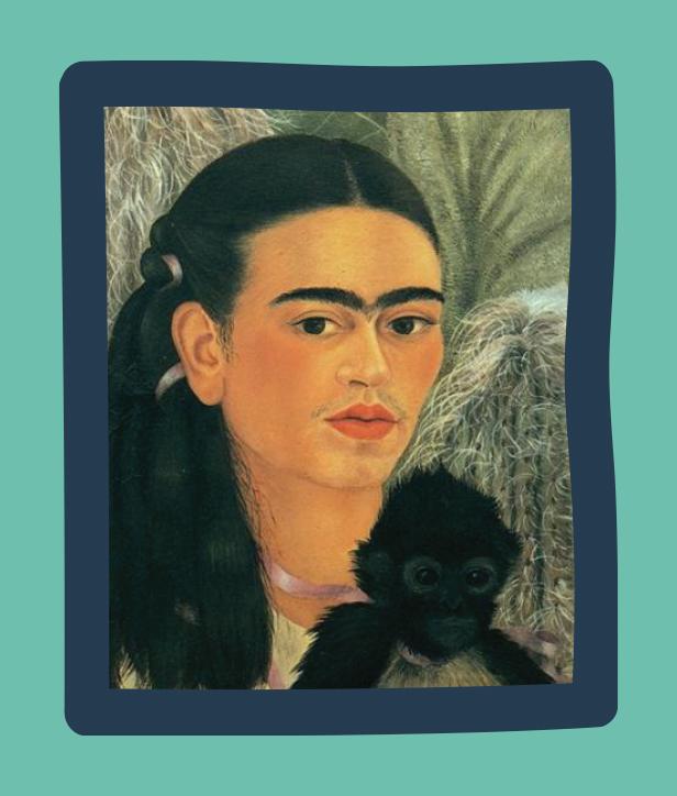 Fulang-Chang and I by Frida Kahlo