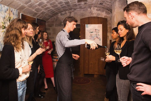 Creative date idea: wine tasting near the Louvre