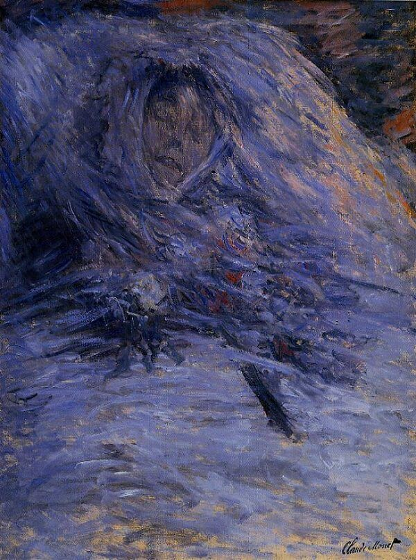 Claude Monet - Camille on her Death Bed (Musée d'Orsay)