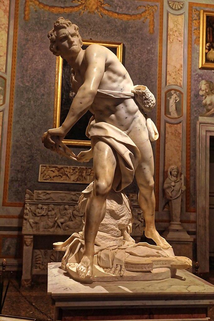 David by Bernini showcases Baroque ideals