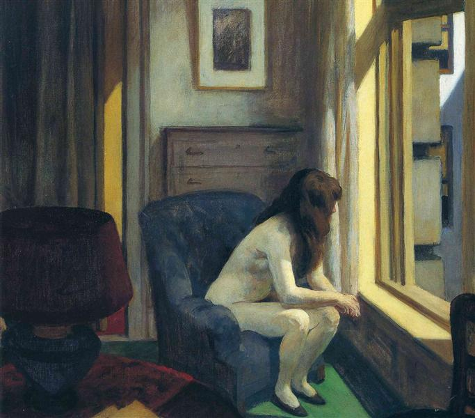 Hopper's paintings manifest the art of being alone in the 21st century
