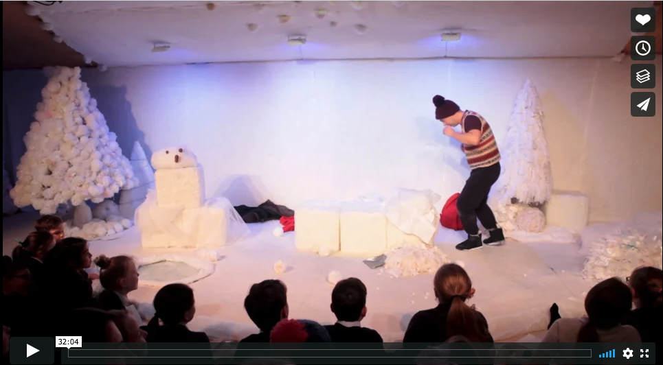 The Snow Mouse is a play for kids you can watch online.
