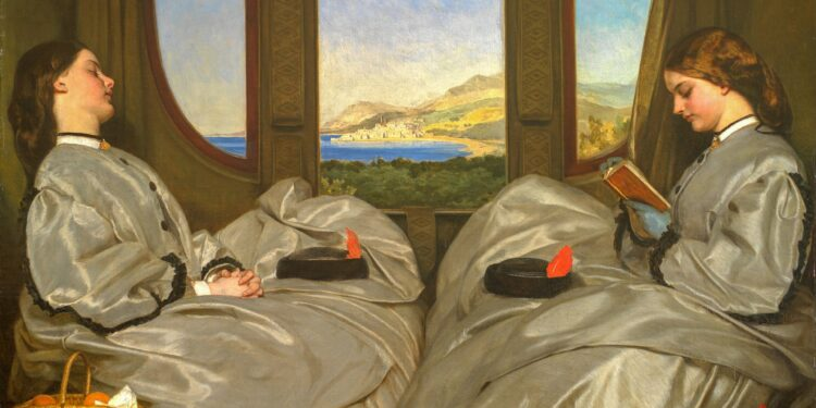 Birmingham Museums Trust's painting of two women