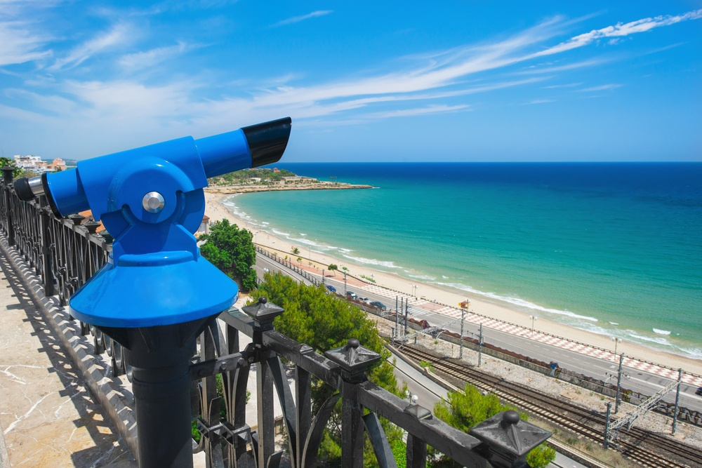 The panoramic Mediterranean Balcony of Tarragona, a must during your visit from Barcelona.