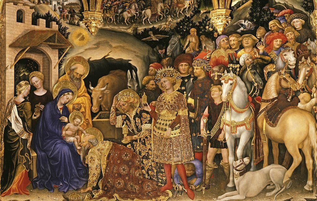 An Uffizi Gallery highlight: Adoration of the Magi (1423) – Painting by Gentile da Fabriano