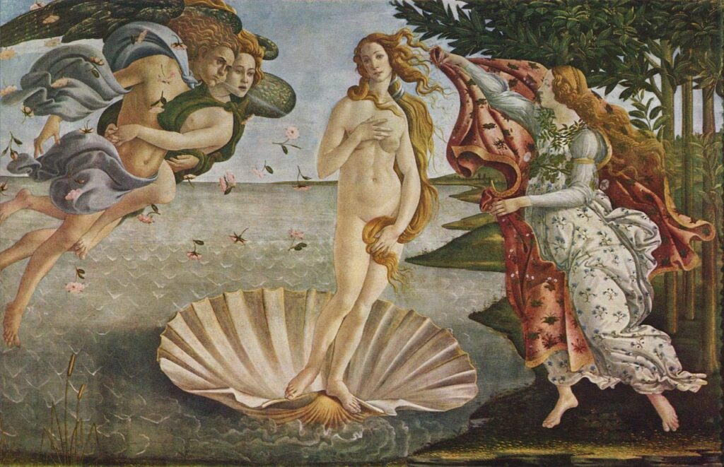 The Birth of Venus is an Uffizi Gallery highlight