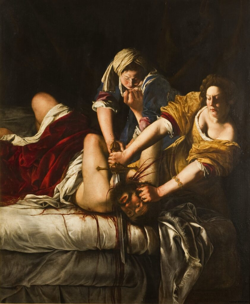 Judith Beheading Holofernes is a must-see in our ultimate Uffizi Gallery guide