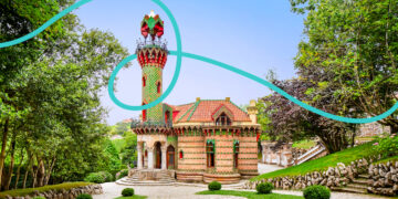 Gaudi's architectural feats are some of the best landmarks in spain
