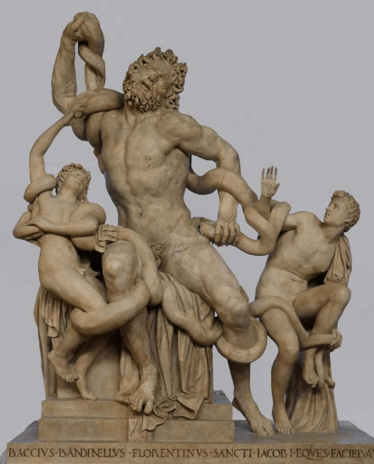 Laocoön and His Sons is considered one of the greatest sculptures of the ancient world