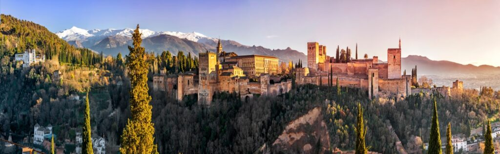 The Spanish museums of Alhambra Palace and Nasrid Palace.