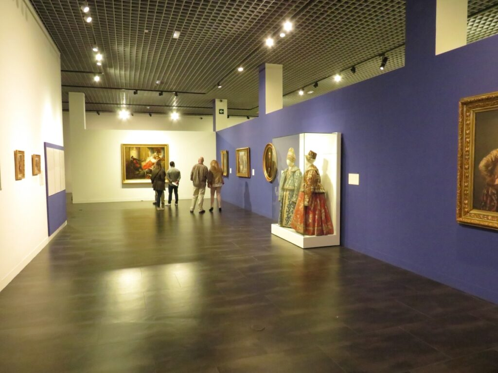 Art on display at the Russian Museum in Málaga, one of the more unexpected museums in Spain.