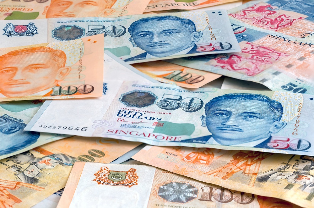 Singapore used SGD, which is one of the strongest currencies in the world