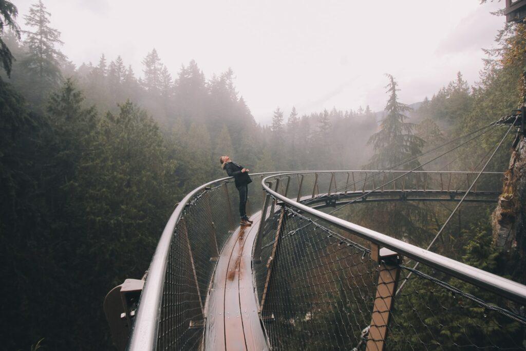 Another Vancouver landmark – the suspension bridge