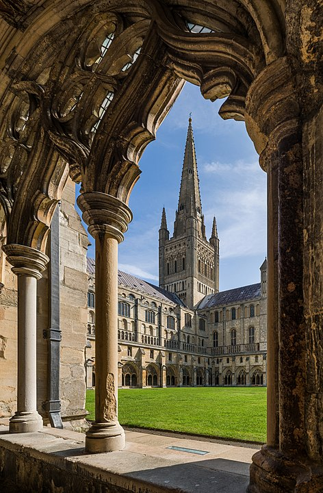 Norwich Cathedral in the historical city