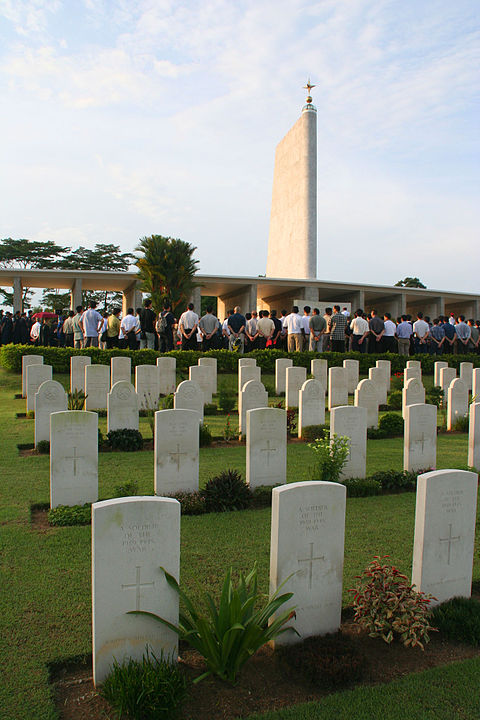 Kranji War Memorial commemorates those who fought against the Japanese in WWII