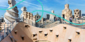 La Pedrera is a beautiful Barcelona landmark