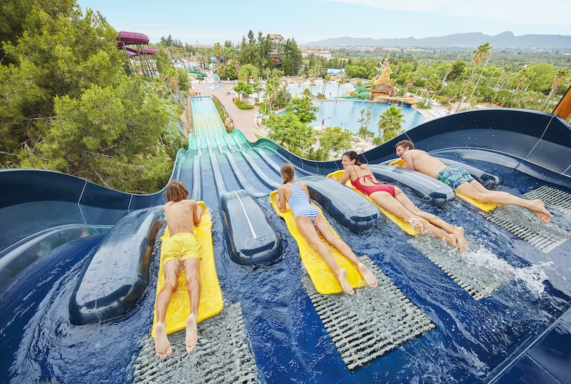 Caribe Aquatic Park is one of the best water parks in Spain