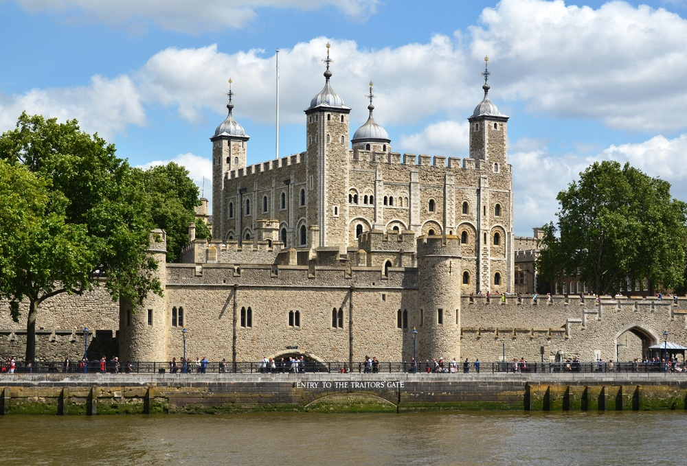 The Tower of London, one of the top landmarks in London.