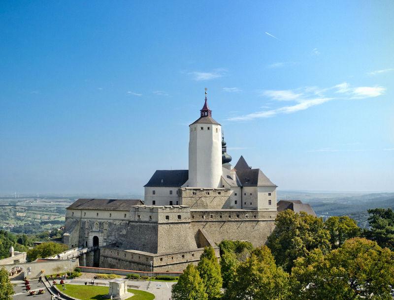 Forchtenstein Castle in Austria.