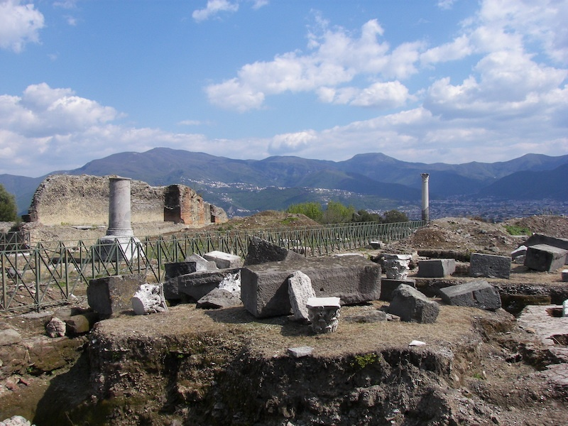 Pompeii is one of the must-visit Campania destinations