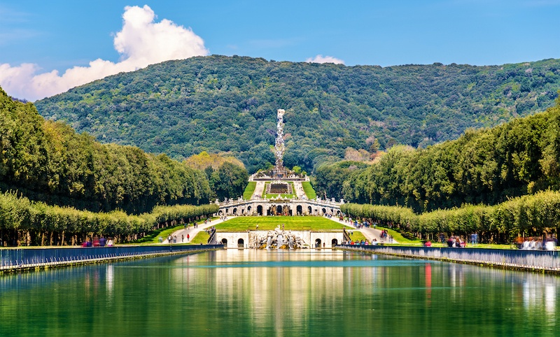 Caserta Palace is a must visit on Campania holidays