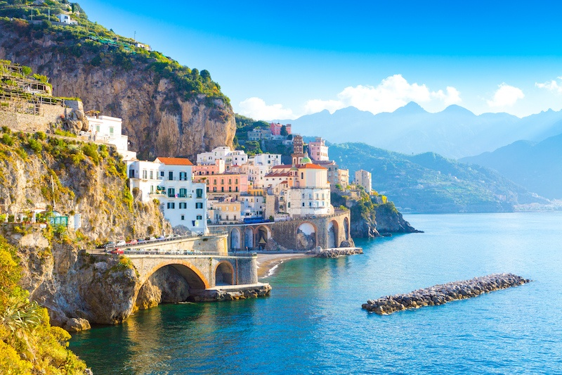The Amalfi coast is a classic when it comes to Campania destinations