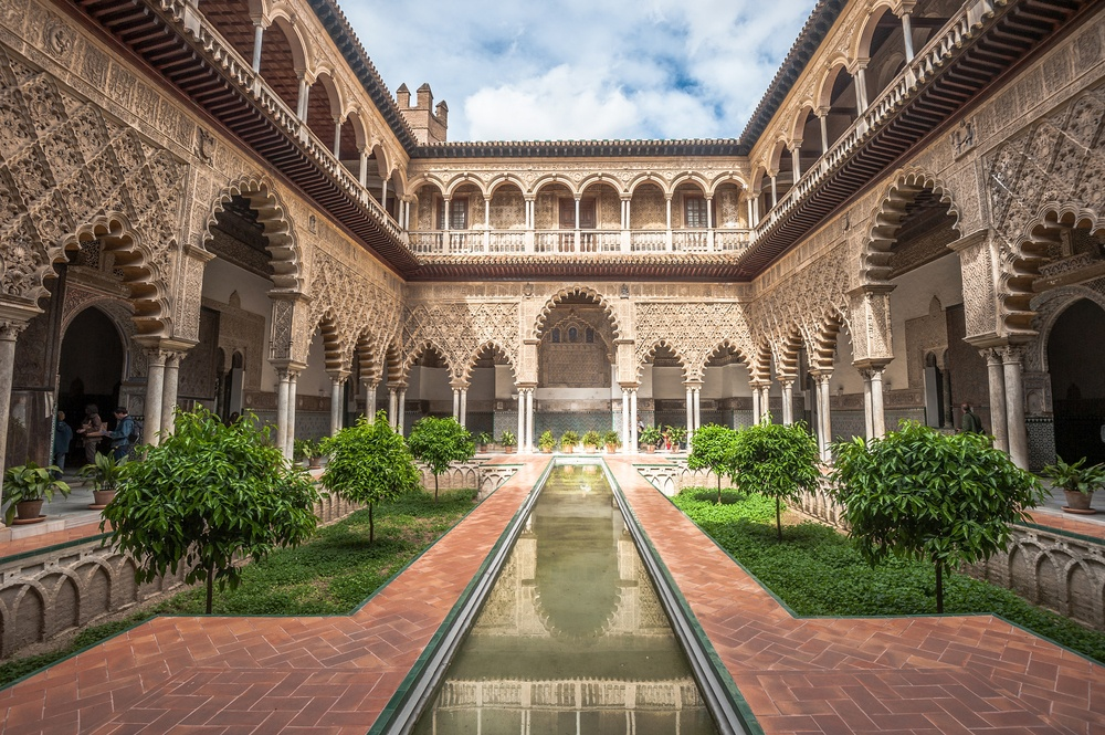 The Royal Alcázar of Seville, a Spain bucket list staple if ever there was one.