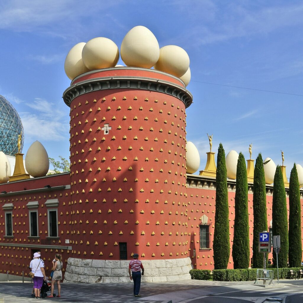 This egg-cellent museum is the handiwork of one Salvador Dalí.