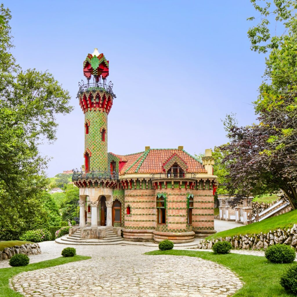El Capricho is one of the few Gaudí works outside of Catalonia.