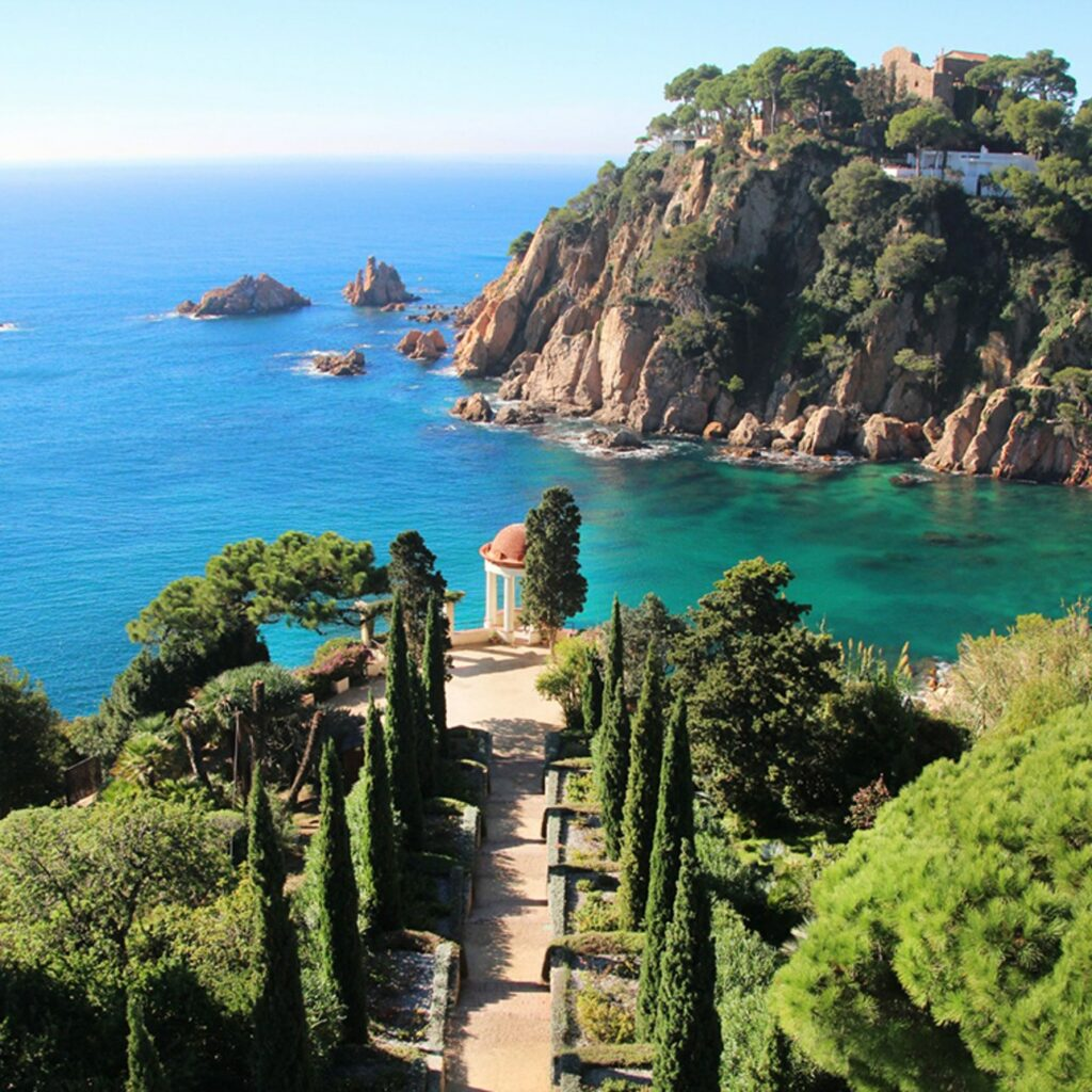 Marimurtra Botanical Garden has natural scenery worthy of any Spain bucket list.