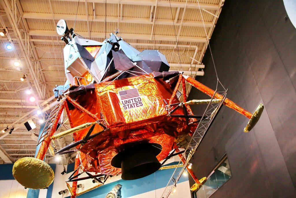 Lunar Module LTA-8 at the Houston Space Center
