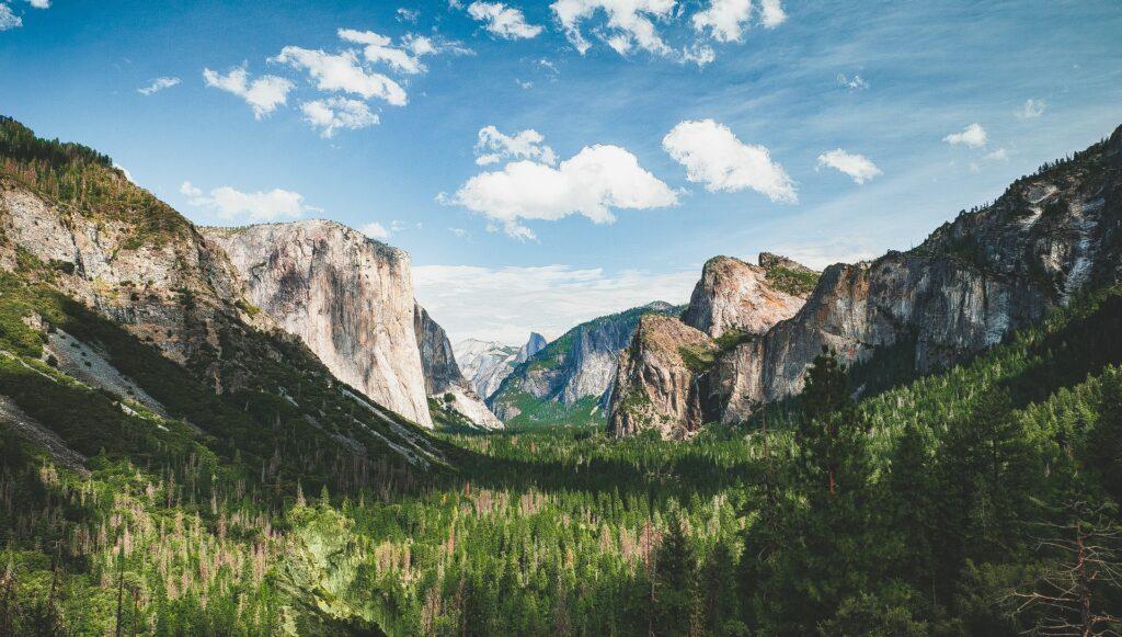 Yosemite National Park in summer