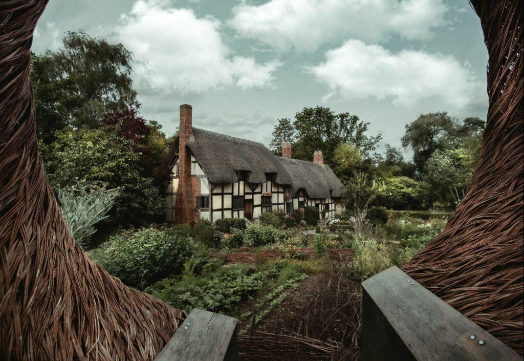 Anne Hathaway's cottage in Stratford-upon-Avon