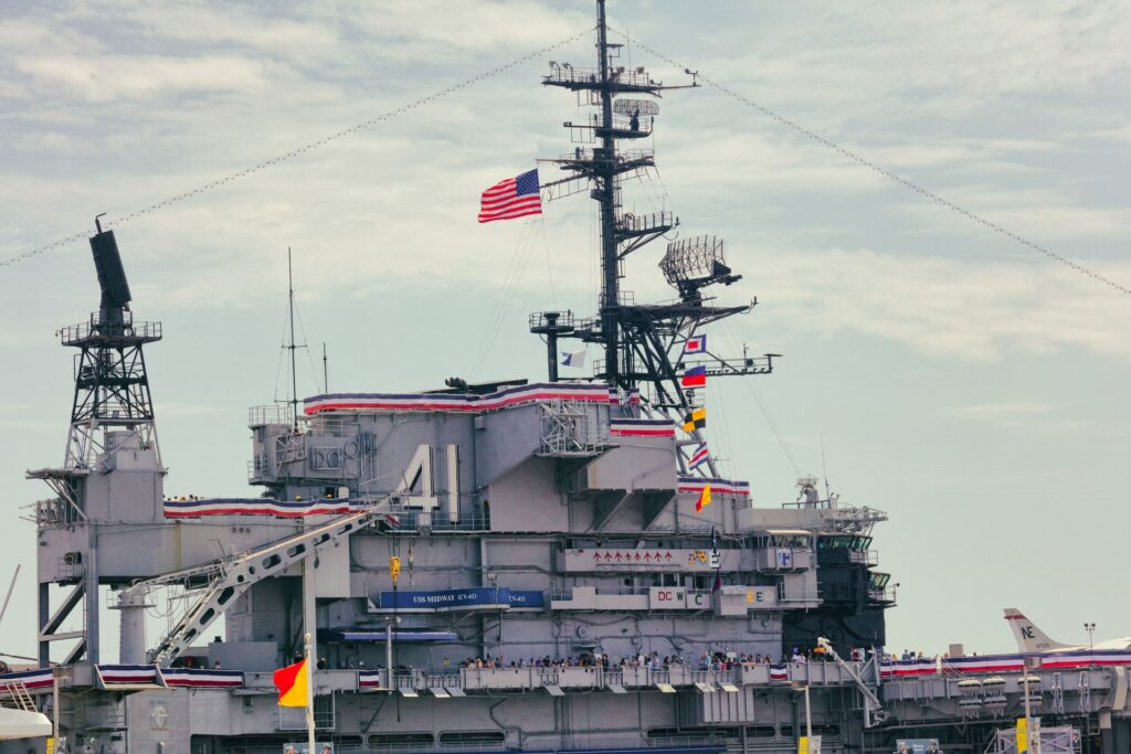 The USS Midway Museum during daytime