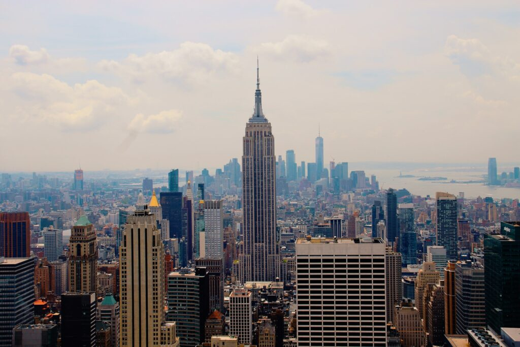 The Empire State Building during daytime