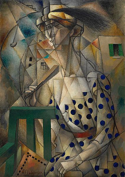Jean Metzinger's Woman with a Fan