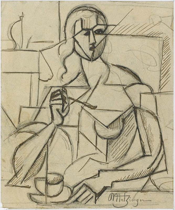Jean Metzinger's Etude pour Le goûter