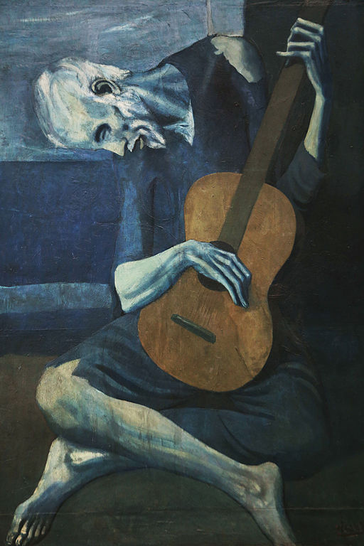 Pablo Picasso's The Old Guitarist