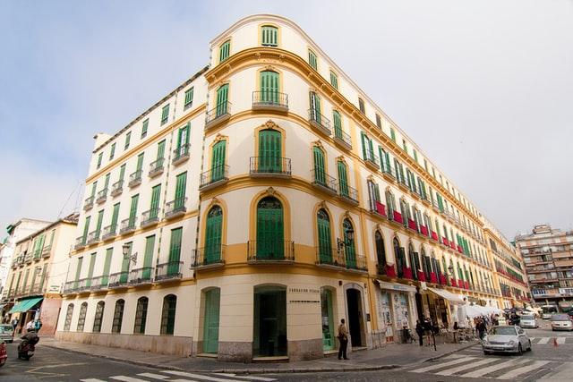 Museo Casa Natal de Picasso exterior in Málaga