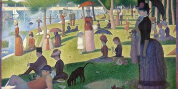A Sunday on La Grande Jatte, Georges Seurat