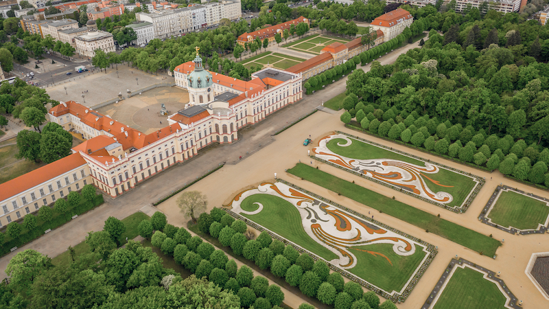 Charlottenburg from above