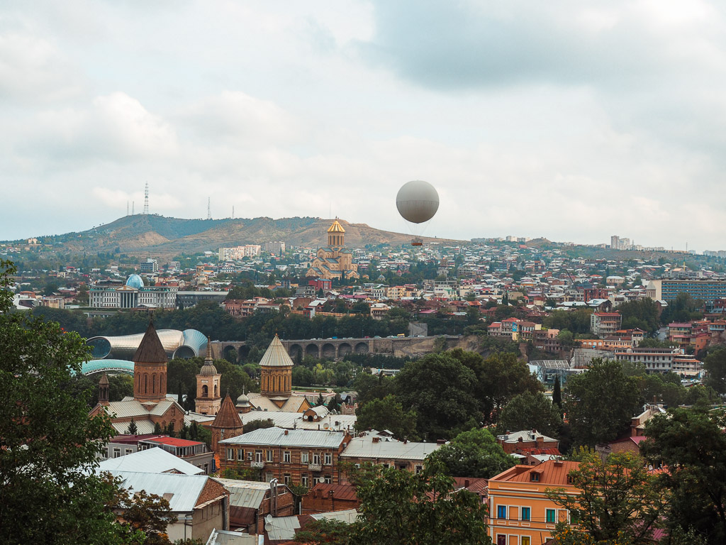 Emily-Lush-Tbilisi-view-2. Always traveling? Or maybe you want to know more about the life of a travel blogger?